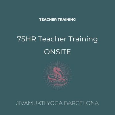 Pre-Booking 75HR Teacher Training ONSITE- English Edition September 21